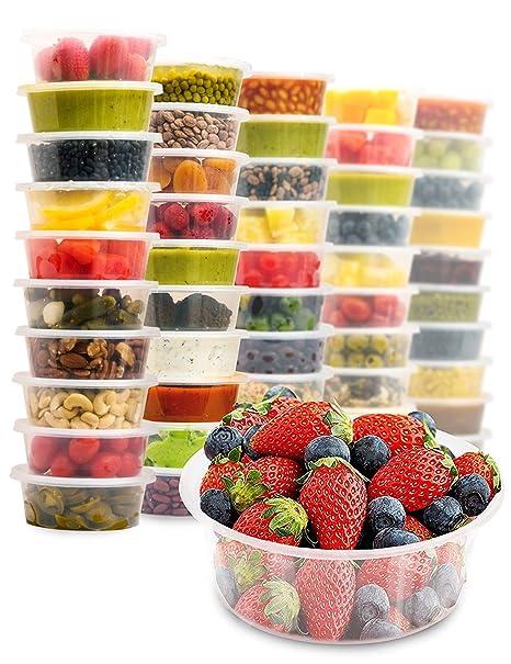 Recipientes desechables Zuvo para alimentos, botes de plástico ...