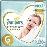 Fralda  Pampers Premium Care  30 Unidades, G