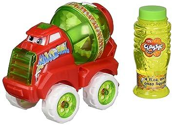 Camión de Juguete Hormigonera Burbujas