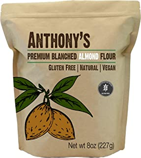 product image for Anthony's Almond Flour Blanched, 8oz, Batch Tested Gluten Free, Non GMO, Vegan, Keto Friendly
