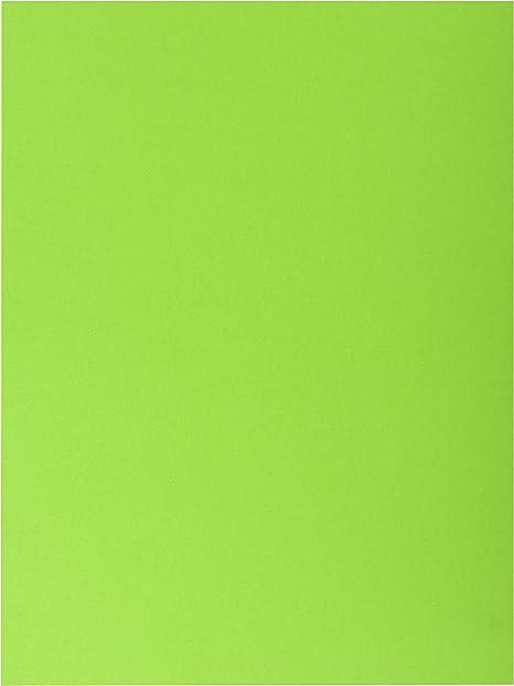 Exacompta 415000E Lote de 25 Subcarpetas Dobles RockS 220 con Solapas Inferiores Colores Surtidos