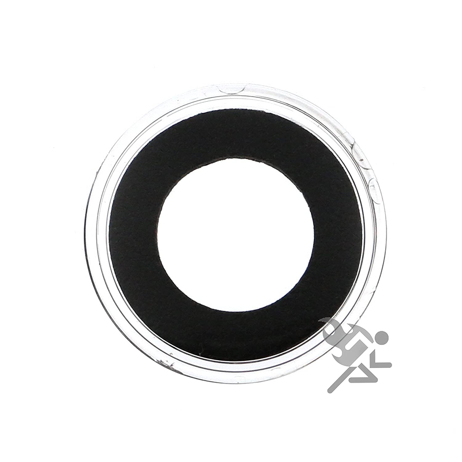 5 Air-tite 16mm Black Ring Coin Holder Capsules for 1//10oz American Gold Eagles
