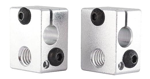 3d Amigos 2 Stk. bloque de aluminio Calefacción E3D V6 Clone ...