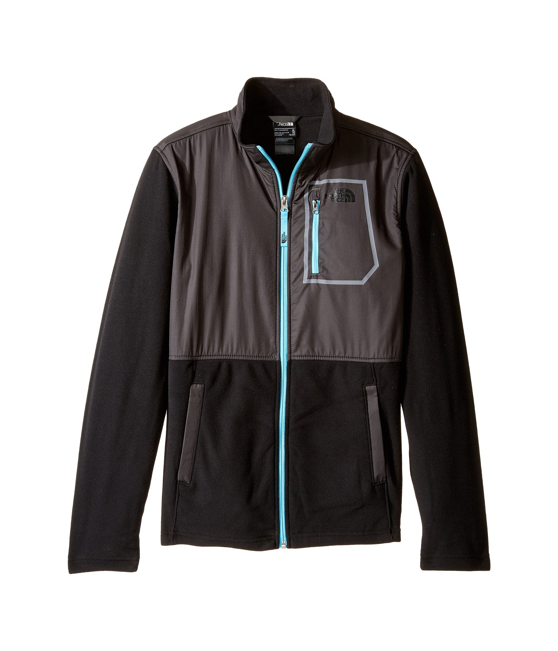 The North Face Boy`s Peril Glacier Microfleece Track Jacket (Big Kids)