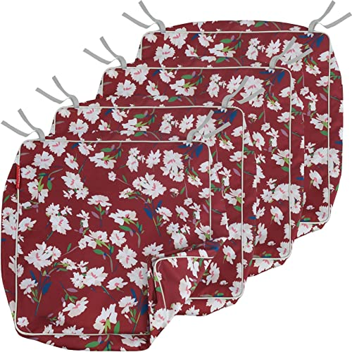Porch Shield Outdoor Chair Seat Cushion Covers Set 4