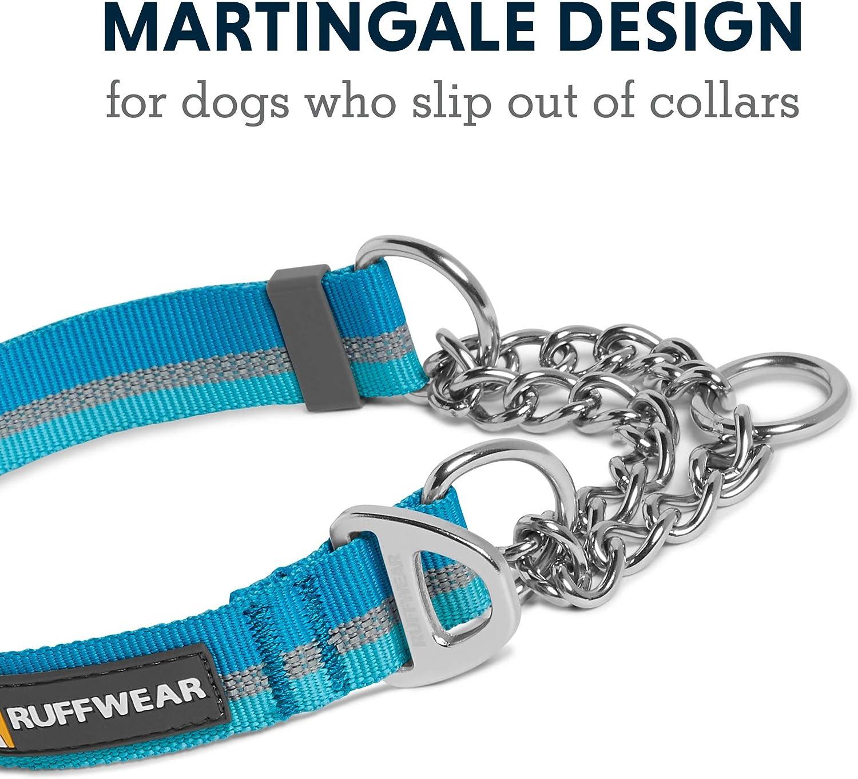 """Collar Martingale Ajustable 14/"""" Azul Noche 11/"""" RUFFWEAR Collar para Perros Web Reaction de Tejido T/écnico 28-35,5 cm"""