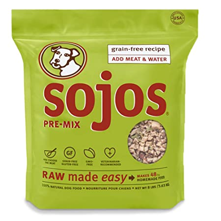Sojos Grain Free Dog Food Mix 8 Lb Amazon Co Uk Kitchen Home