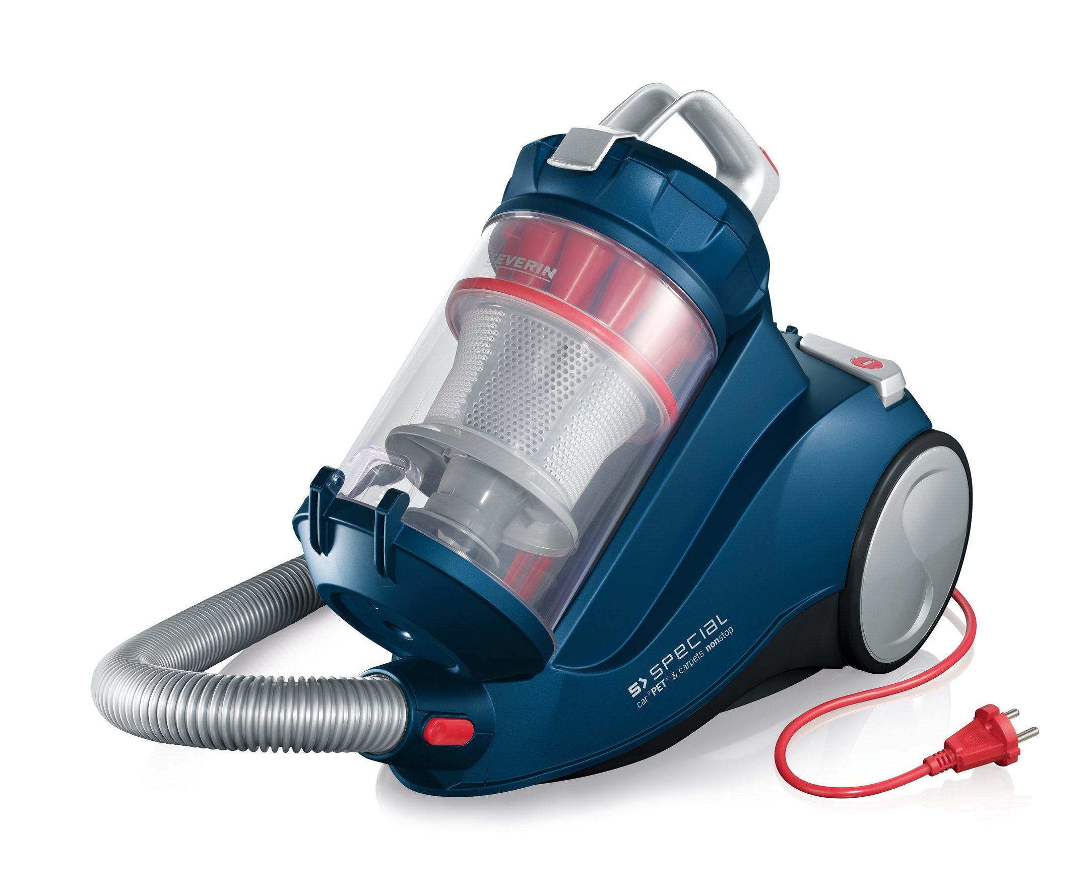 Severin Germany Special Bagless Vacuum Cleaner, Corded (Ocean Blue) by Severin