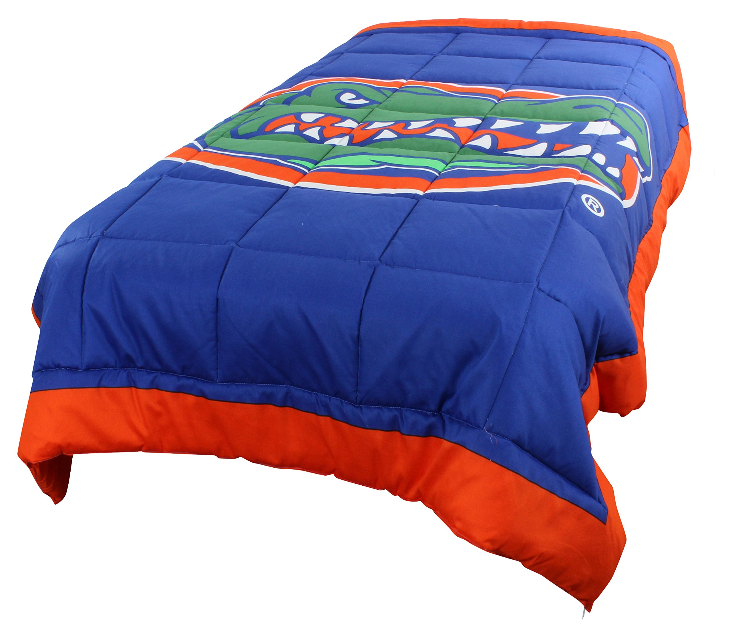 College Covers Florida Gators 2 Sided Reversible Comforter, Twin