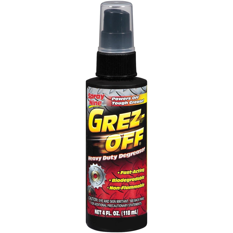 Spray Nine 22700 Grez-Off Heavy Duty Degreaser, 4 oz.