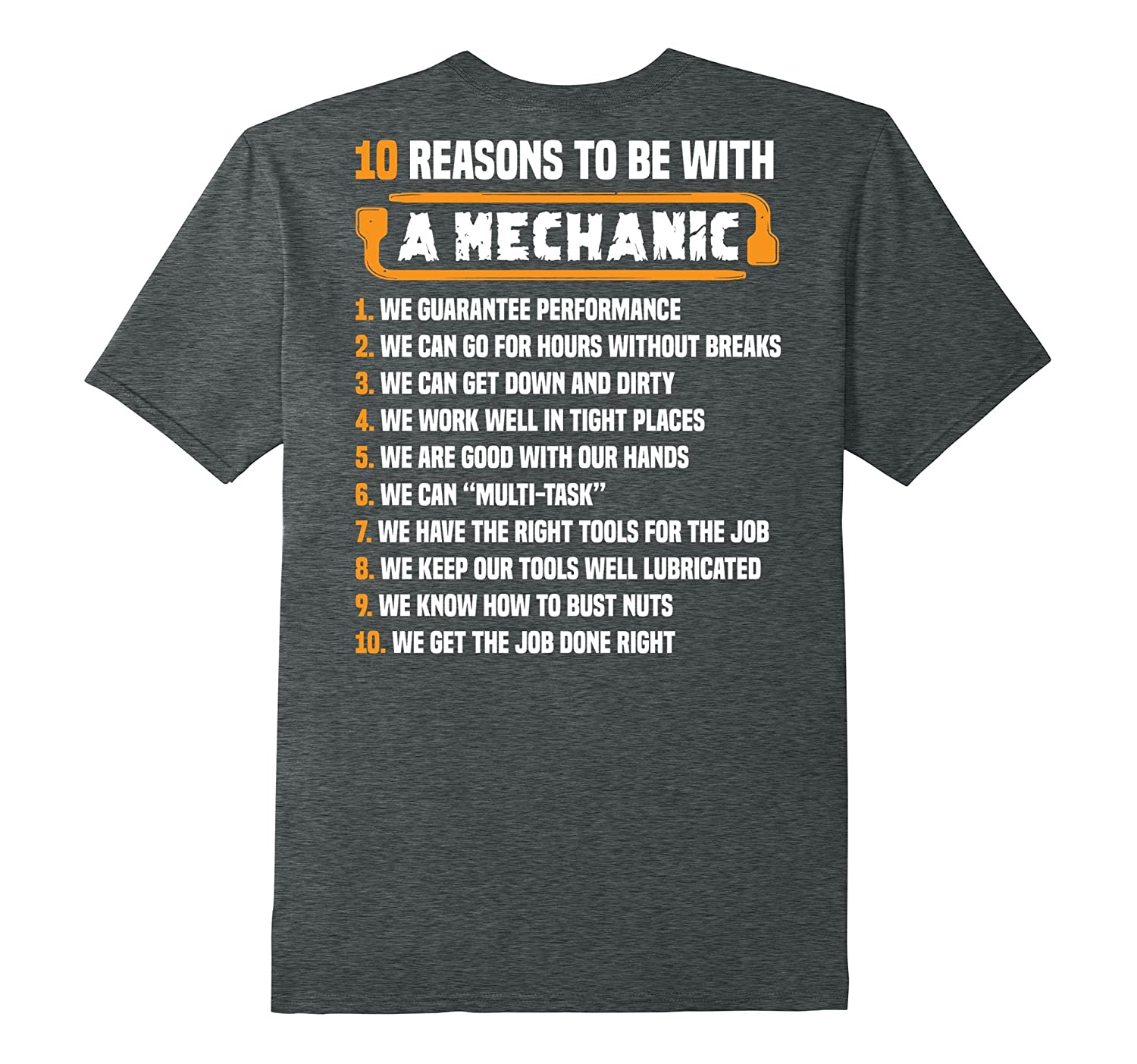 10 Reasons To Be With Mechanic T-Shirt - Mechanic Funny-PL