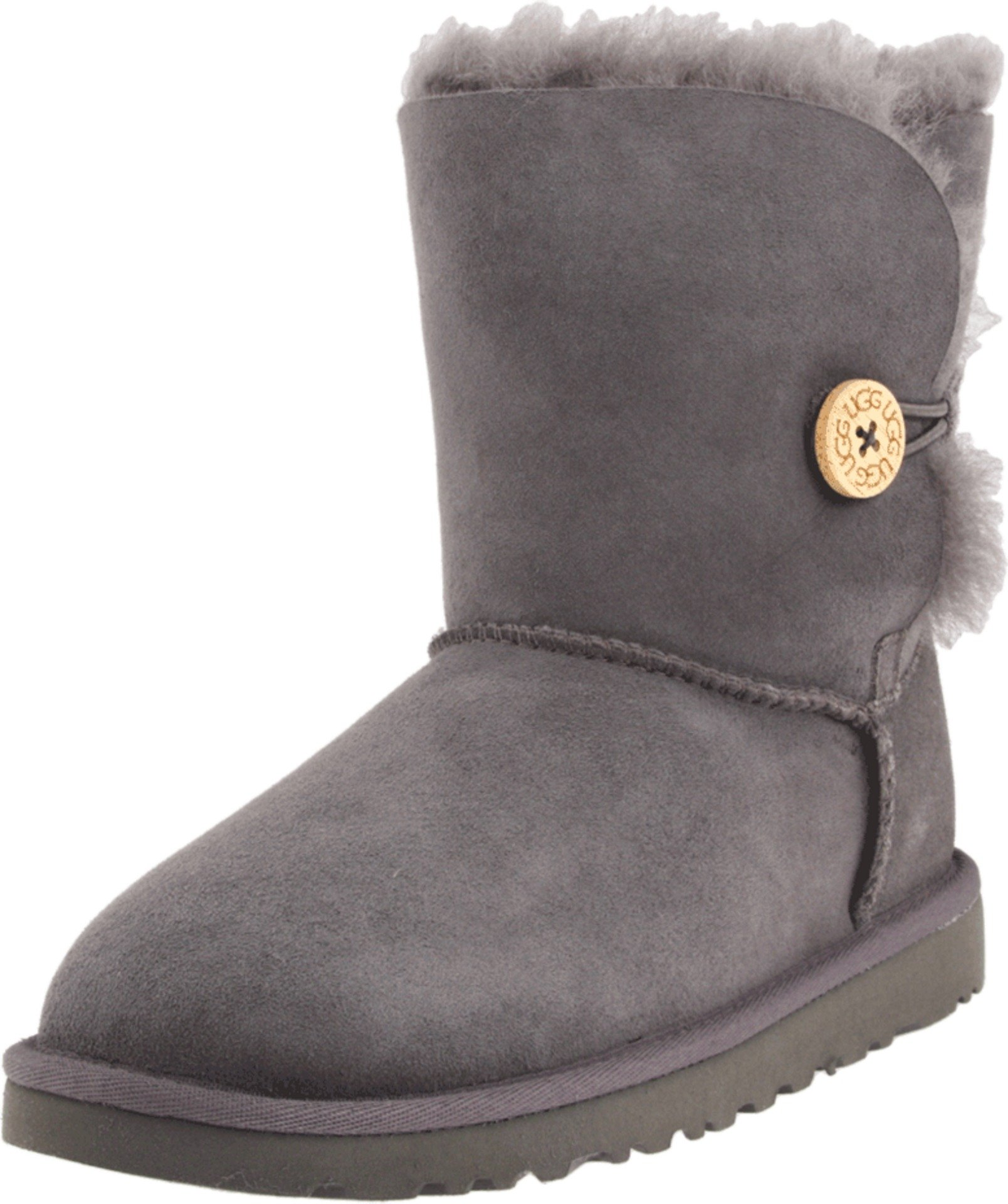 UGG Australia Bailey Button Girls Boots Grey 5, 2012