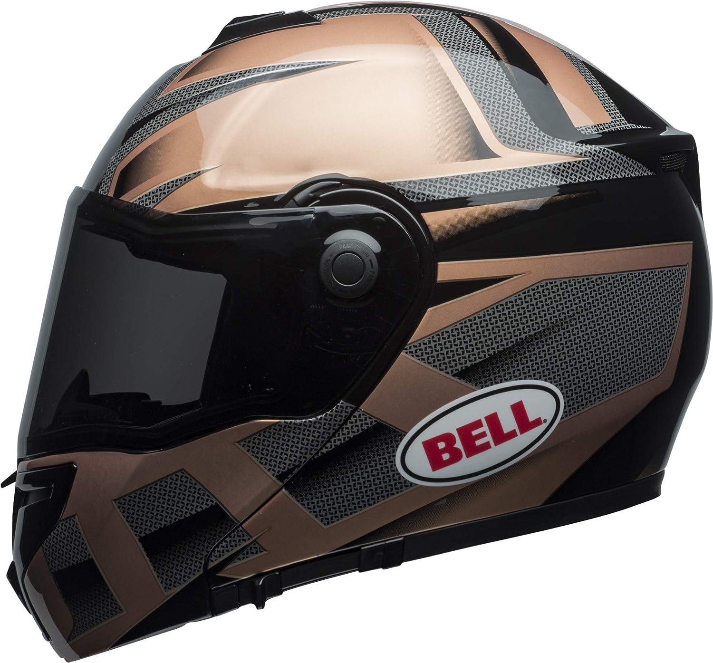 Gloss White, Medium Bell SRT Modular Street Motorcycle Helmet SRT-Modular