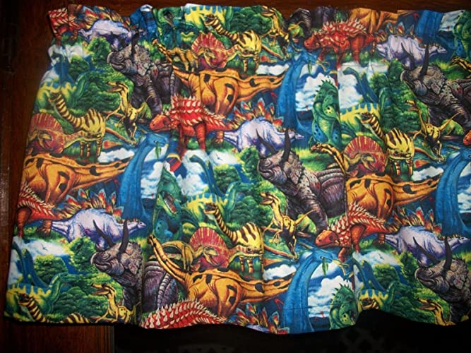 Amazon.com: Dinosaurs Animals childrens boys bedroom fabric ...