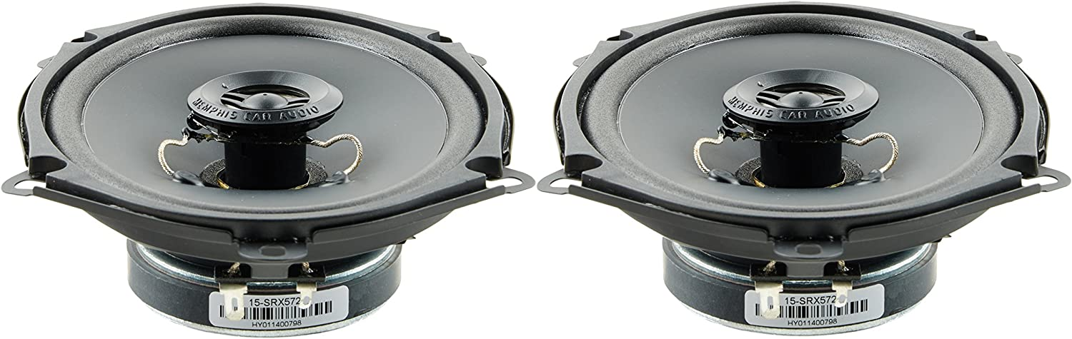Memphis Audio 15-SRX572 120W Max 5x7 Car Audio Coaxial Two Way Speakers