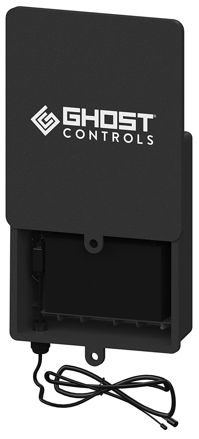 Ghost Controls ABBT Battery Box Kit for Vehicular Swing Gates or Deer Feeders (Kit with 0 Batteries)