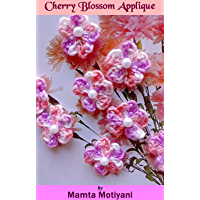 Cherry Blossom Applique | 5 Petaled Flower: An Easy Crochet Flower Embellishment Pattern For Holidays (Crochet Applique Patterns)