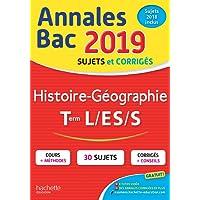 Annales Bac 2019 Histoire-Géo Tles L/ES/S