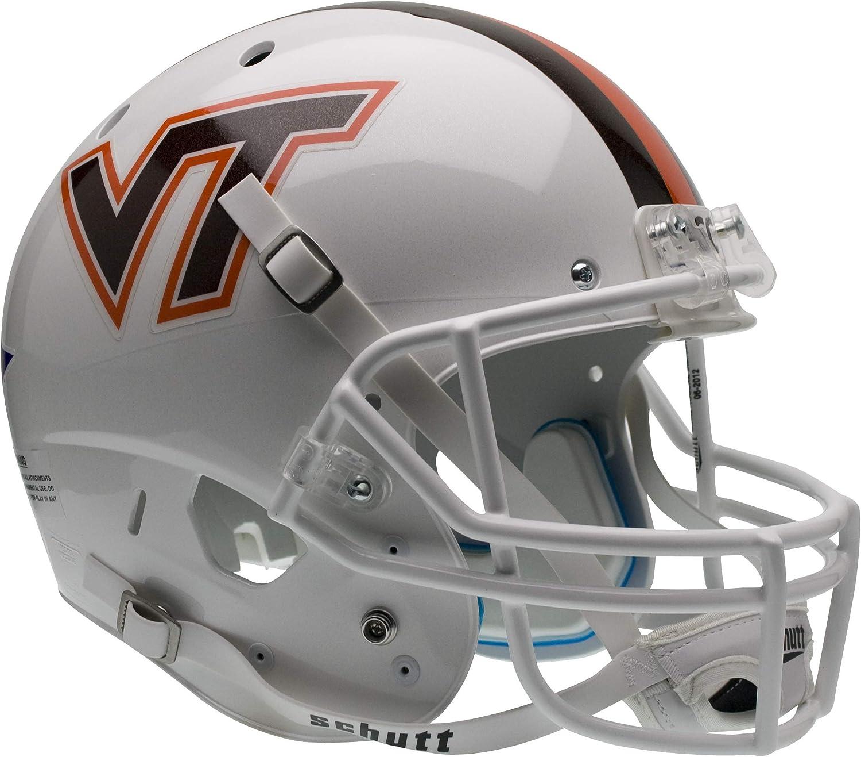Schutt NCAA Virginia Tech Hokies Replica XP Football Helmet