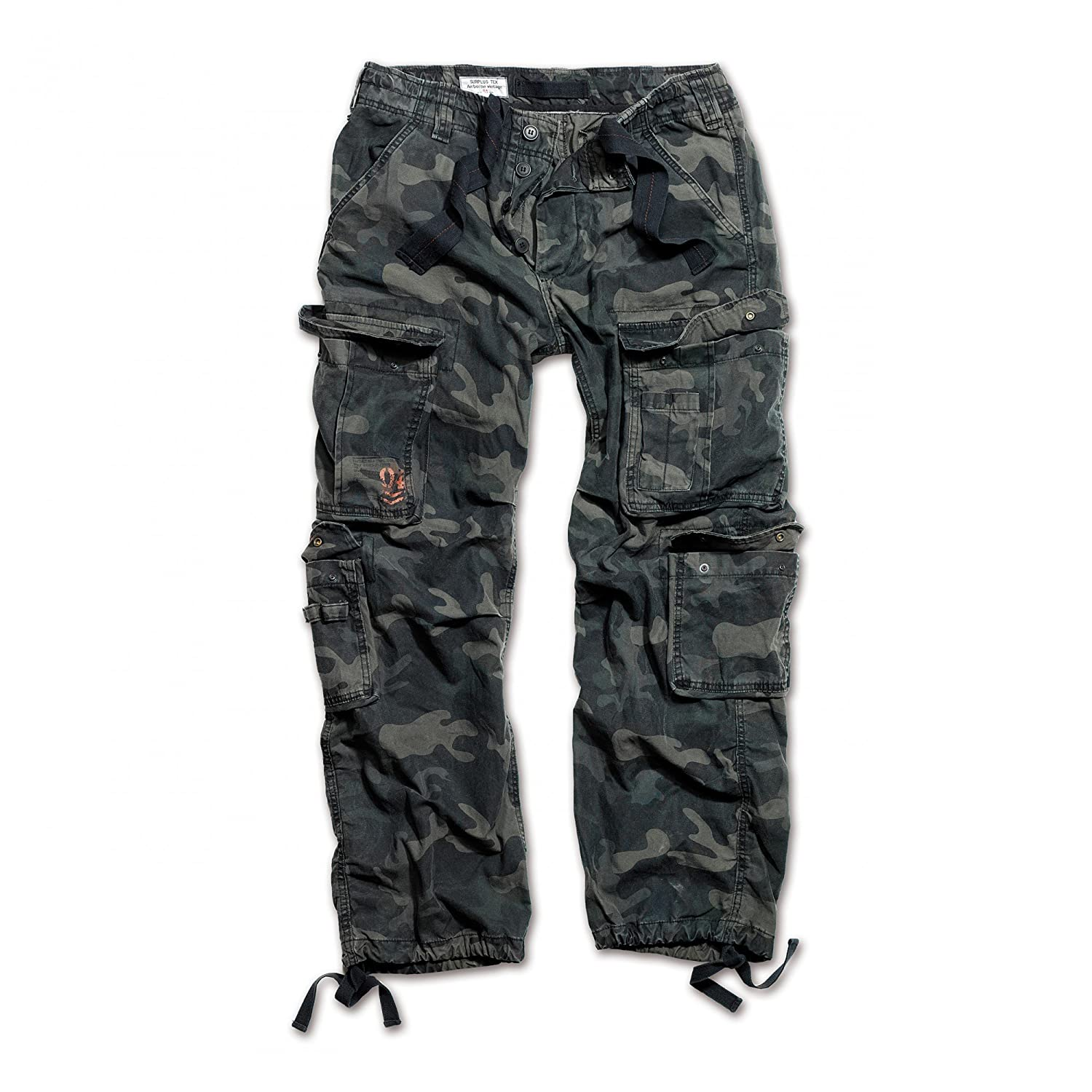 Surplus Airborne Vintage Trousers Black Camo at Amazon Men s Clothing store  9c95f848a4166