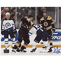 $69 » Trent Frederic Boston Bruins signed 16x20 Fight photo