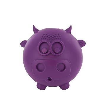 Petsafe Busy Buddy - Juguete Cow Wow para Perros, Mediano/Grande, Color púrpura