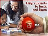 Teacher Peach Inspirational Stress Balls, Stress