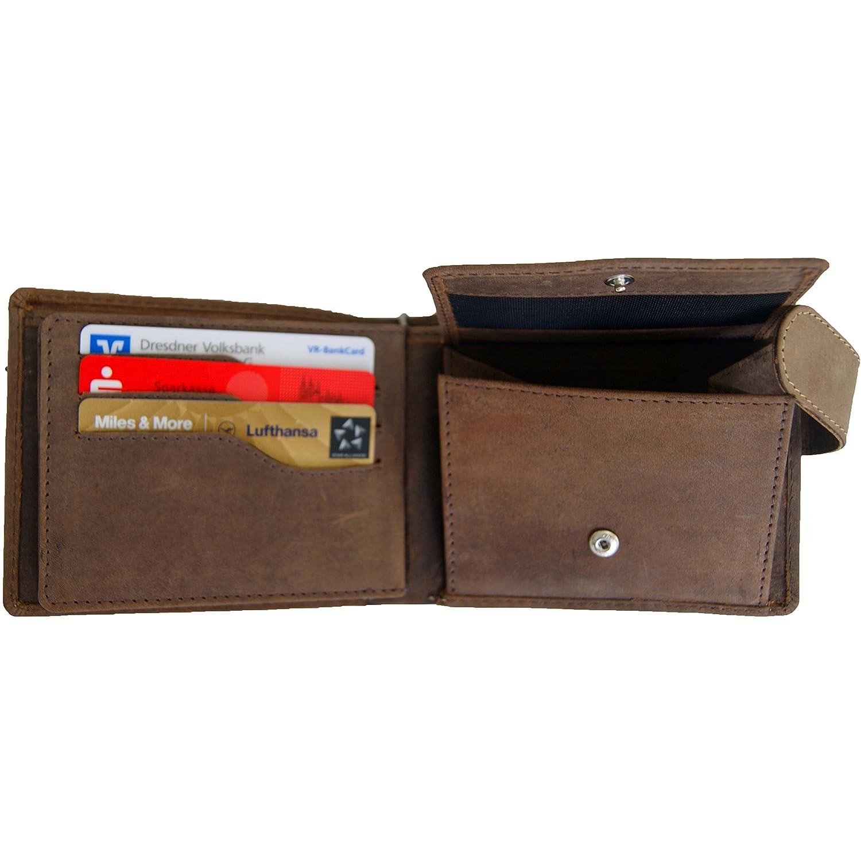 Amazon.com: BARON of MALTZAHN Mens wallet purse with chain VANDERBILT of brown leather: Shoes