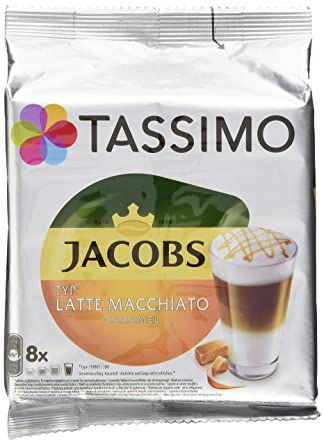 TASSIMO Jacobs Latte Macchiato caramel - Café: Amazon.es ...