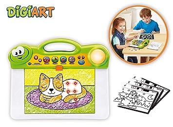 VTech- DigiART Pizarra Luces, Aprende A Dibujar y Color (3480-163822)
