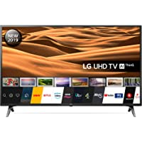 LG 43UM7100PLB 43 Inch UHD 4K HDR Smart LED TV with Freeview Play - Ceramic Black (2019 Model) Amazon exclusive