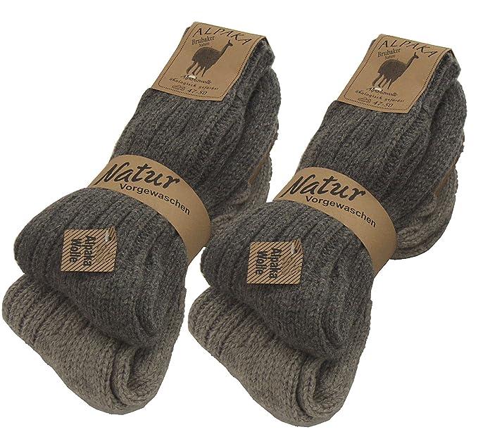 Juego de 2pares de calcetines norvégiennes (–Calcetines de lana), tejer de los calcetines. Para los hombres y las mujeres.