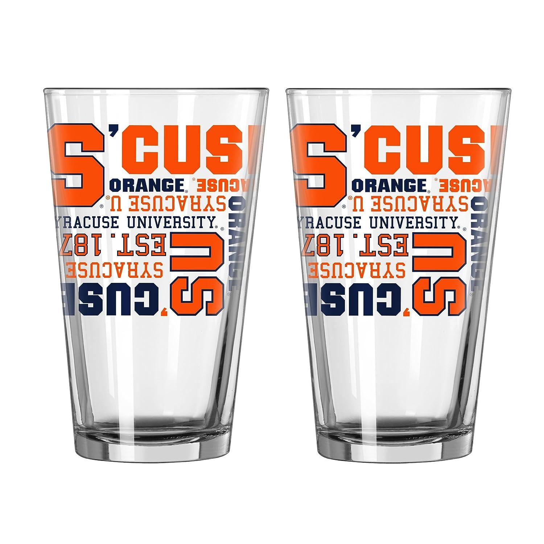 NCAA Spirit Pint Glass 16-Ounce 2-Pack