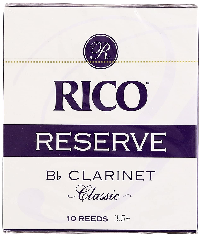 RICO リード レゼルヴ クラシック Bbクラリネット 強度:3.5+(10枚入) RCT10355 B0039RT1HO