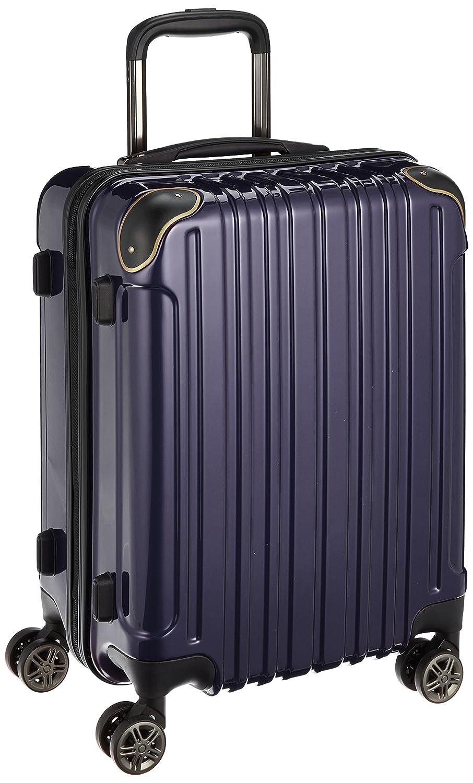 [ワイズリー] 超軽量双輪スーツケース 機内持込最大サイズ コーナーパッド付き TSAロック 338-2200  ネイビー B01N7KSXTQ