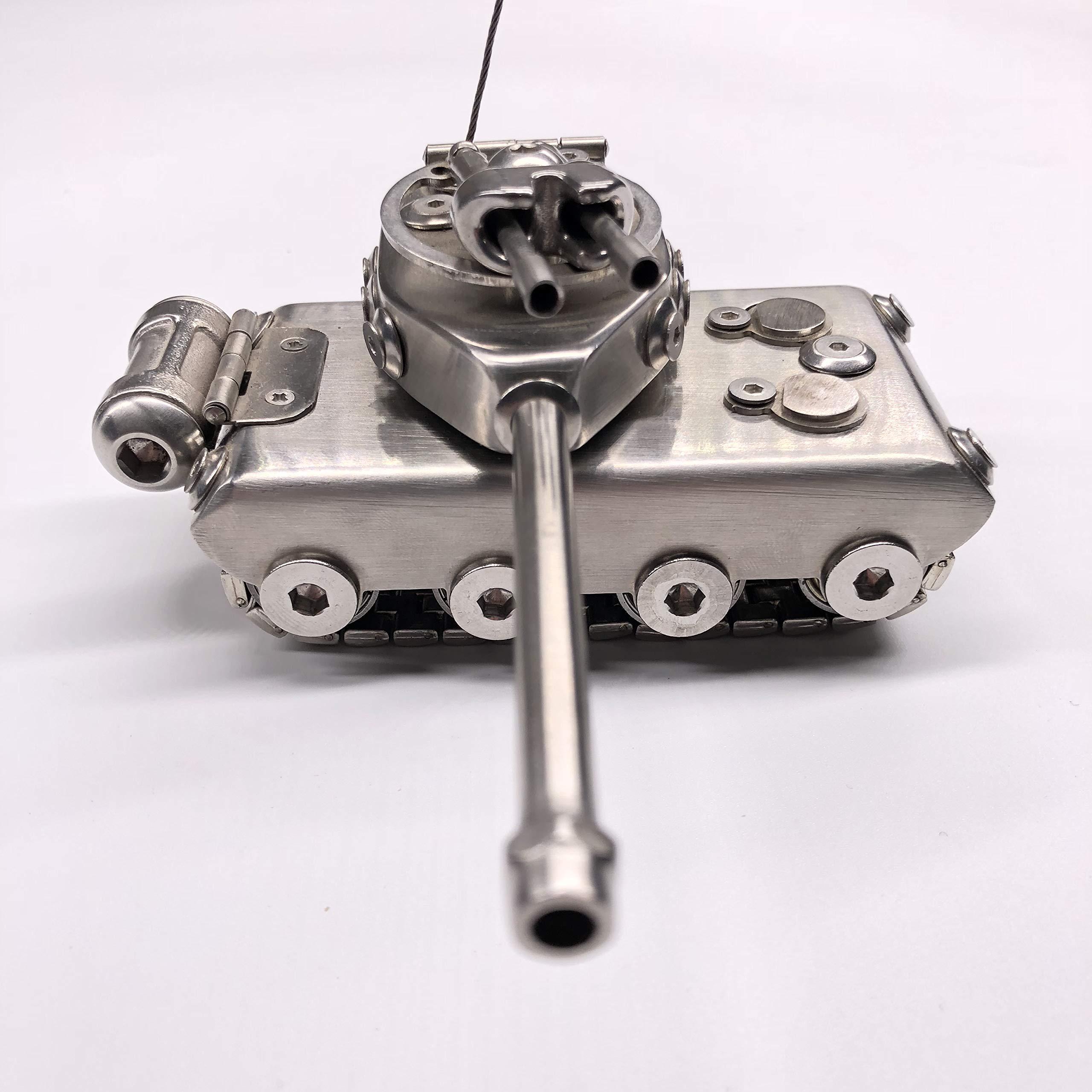 alasa Handmade Metal Tank Model Military Fans Must Collect by alasa (Image #5)