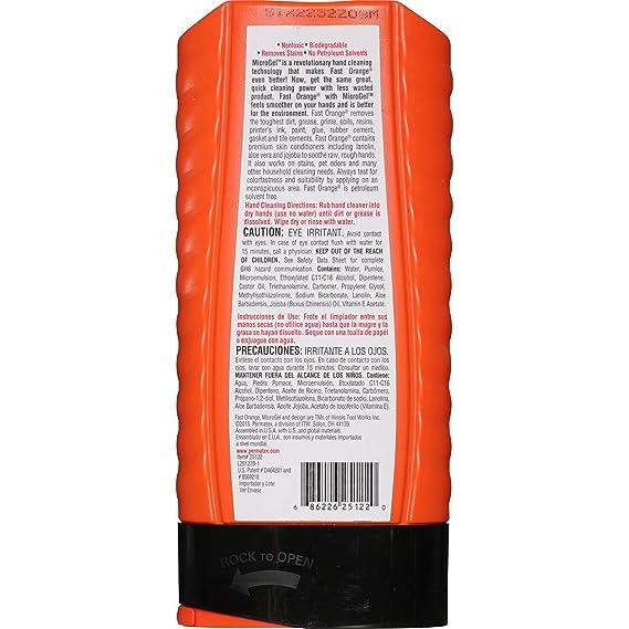 Amazon.com: Permatex 25122 Fast Orange Pumice Lotion Hand Cleaner - 15 fl. oz. (10 Pack): Automotive