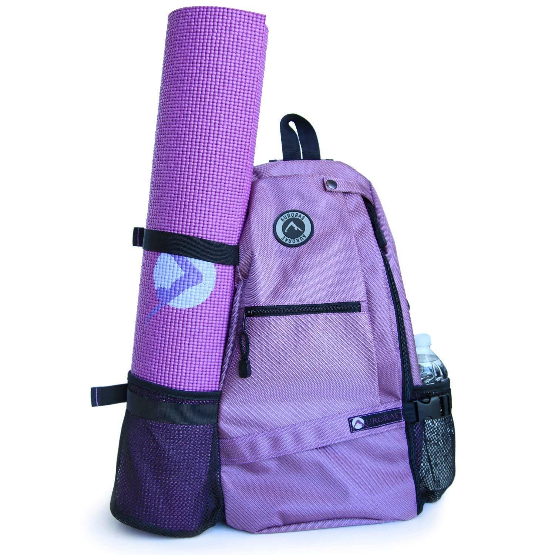 Aurorae Yoga Mat Bag. Multi Purpose Cross-body Sling Back Pack. Mat sold separately. [並行輸入品] B07R4VKXGQ