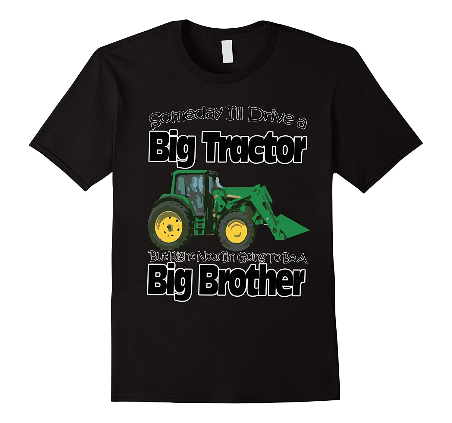 Sibling Tractor T-Shirt Gift For Big Brother Youth Kids-CL ...