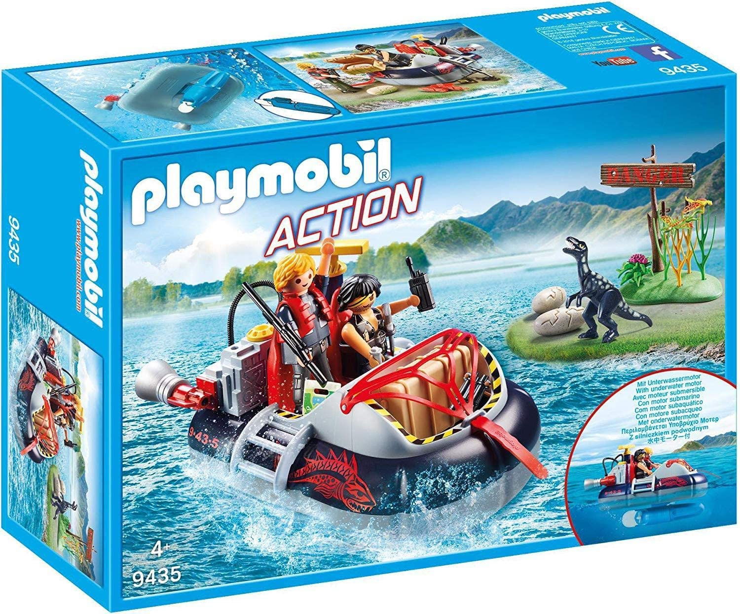 Playmobile Aeroglisseur