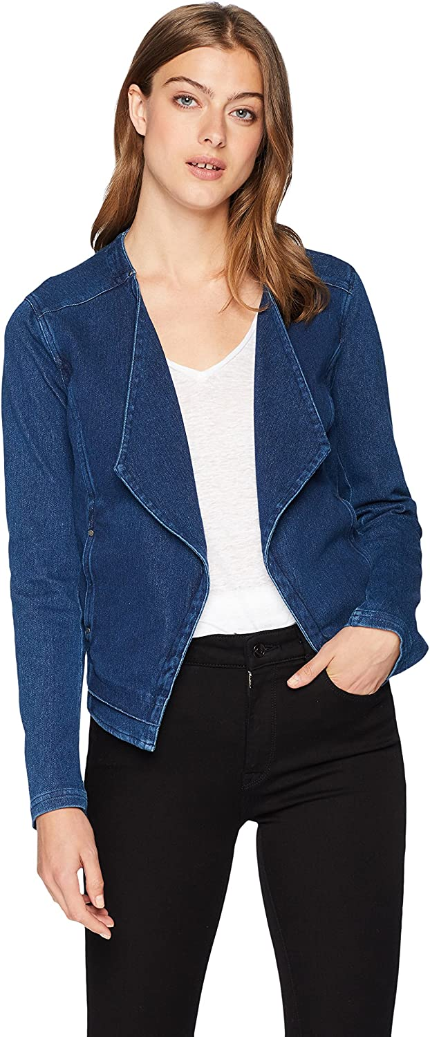 Lyss/é Womens Alana Open Denim Jacket