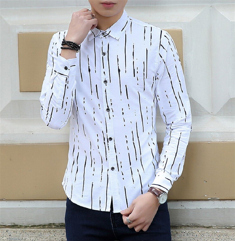 Amazon Vazpue Shirtshot Sale New 2016 Mens Designer Stripes