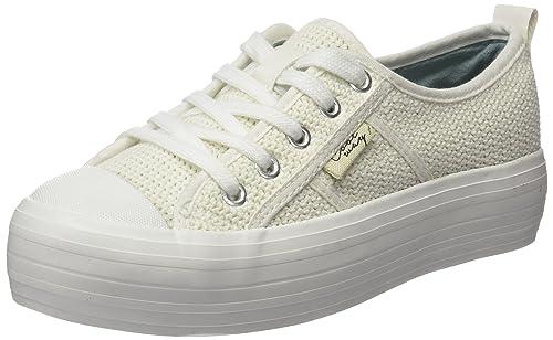 Coolway TAVI - Zapatillas para Mujer, Color Blanco, Talla 36: Amazon.es: Zapatos y complementos