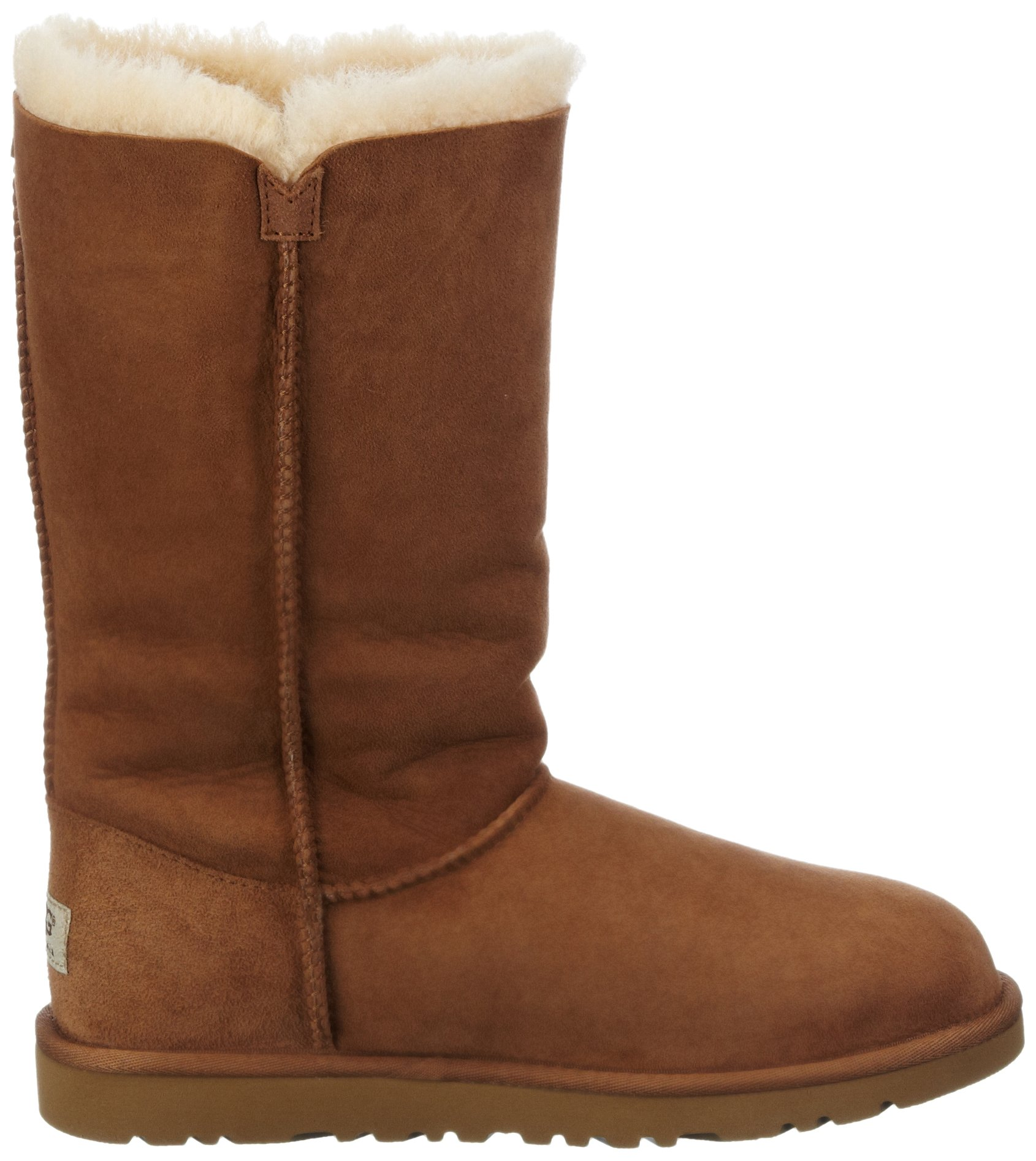 Kid's UGG Bailey Button Triplet chestnut size 4 us by UGG (Image #6)