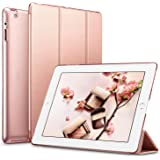 ESR iPad 2 3 4 Case, Smart Case Cover [Synthetic Leather] Translucent Frosted Back Magnetic Cover with Auto Sleep/Wake Function [Light Weight] (Rose Gold)