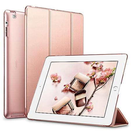 ESR Hülle kompatibel mit iPad 4 / iPad 3 / iPad 2 (9,7 Zoll), Ultra Dünnes Smart Case Cover mit Auto Schlaf-/Aufwachfunktion