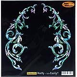Inlay Sticker Decals for Guitar Bass - L&R Set Gothic Line -Mix