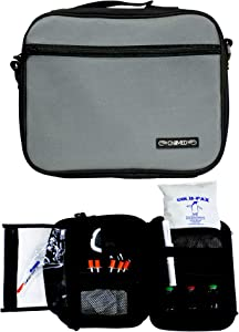 ChillMED Premier Diabetic Travel Bag with Shoulder Strap & One 24 oz Cold Pack for 24 Hours Cold Time
