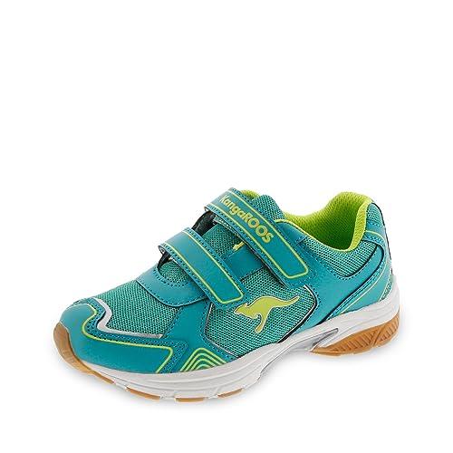 KangaROOS 12000-880 - Zapatillas de Running para niña dk Smaragd/Lime