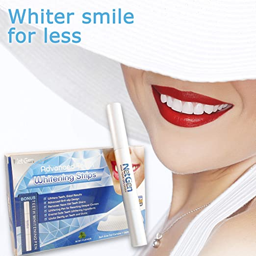 Amazon Com Teeth Whitening Strips Professional Teeth Whitening